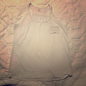 Motherhood Maternity loose white Tank (L)
